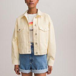 Veste courte en jean style worker, coupe ample - LA REDOUTE COLLECTIONS - Modalova