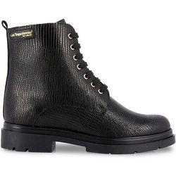 Boots à lacets cuir Soraya - LES TROPEZIENNES PAR M BELARBI - Modalova