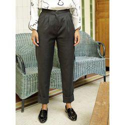 Pantalon 100% laine vierge tailleur - SOI PARIS - Modalova