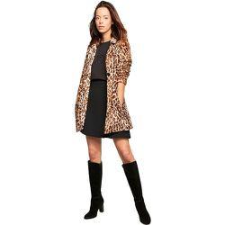 Veste longue imprimé léopard - BURTON OF LONDON - Modalova