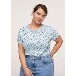 T-shirt imprimé coton bio - Mango - Modalova