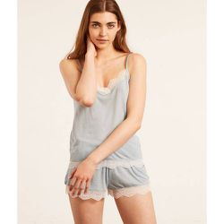Hau de pyjama débardeur décolleté dentelle WARM DAY - ETAM - Modalova