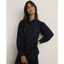 Chemise en jean ceinture - FORMULA JOVEN - Modalova