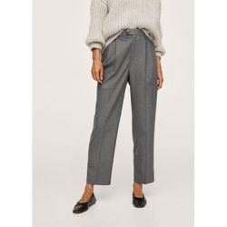 Pantalon droit pinces - Mango - Modalova