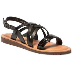 Sandales plates cuir BLAUDIA - TBS - Modalova
