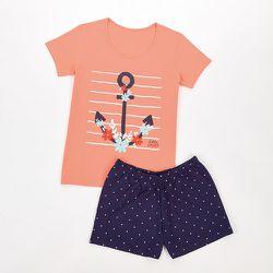 Pyjashort manches courtes Liber - MELISSA BROWN - Modalova