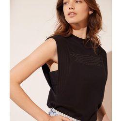 T-shirt avec épaulettes SOPHIE - ETAM - Modalova