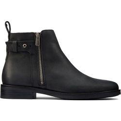 Boots en cuir Memi Lo - Clarks - Modalova