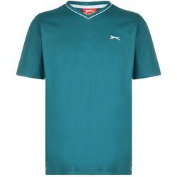 T-shirt col en v manche courte - Slazenger - Modalova