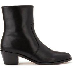 Boots en cuir talon moyen biseauté - SOEUR X LA REDOUTE COLLECTIONS - Modalova
