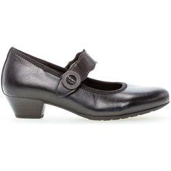 Trotteurs cuir lisse talon bloc couches cuir - Gabor - Modalova