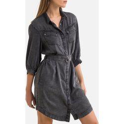 Robe-chemise en Lyocell - IKKS - Modalova