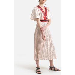 Robe longue imprimée plissée - LIU JO - Modalova
