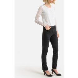 Pantalon droit 5 poches coton stretch - Anne weyburn - Modalova