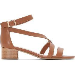 Sandales cuir à talons carrés - Anne weyburn - Modalova