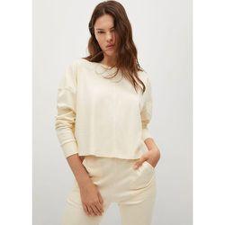 Sweat-shirt crop coton - Mango - Modalova