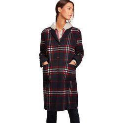Manteau long à carreaux - BURTON OF LONDON - Modalova