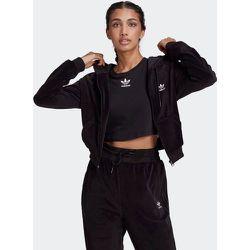 Veste à capuche LOUNGEWEAR Cropped Full Zip - adidas Originals - Modalova