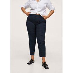 Pantalon droit coton recyclé - Mango - Modalova