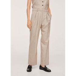 Pantalon costume pinces - Mango - Modalova