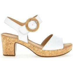 Sandales à talon suede talon recouvert - Gabor - Modalova