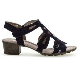 Sandales à talon suede talon décroché - Gabor - Modalova