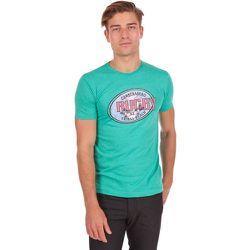 T-shirt chiné uni col rond - CAMBERABERO - Modalova