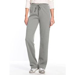 Pantalon en molleton - SECRETS DE MODE - Modalova