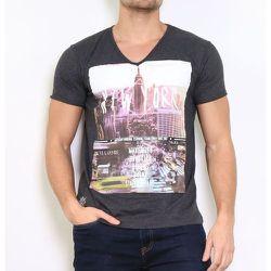 T-shirt manche courte col V COCORO - HopenLife - Modalova