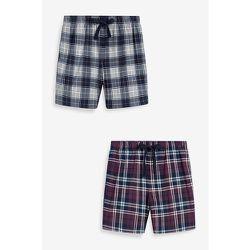 Bas de pyjama short confortable à carreaux - Next - Modalova