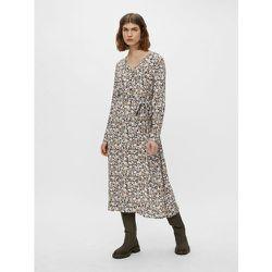 Robe mi-longue Lien à nouer à la taille - Pieces - Modalova