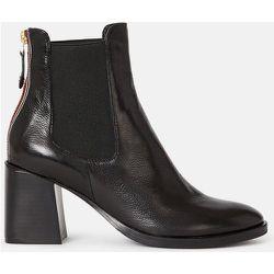 Boots cuir à talons Titiar - MINELLI - Modalova