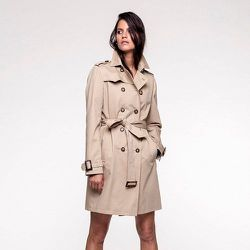 Trench coton authentique RODEZ - TRENCH AND COAT - Modalova