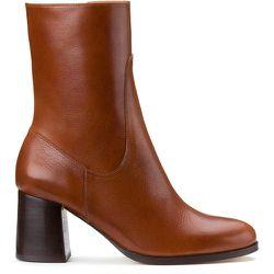 Boots en cuir talon large GABRIELLE - ANTHOLOGY PARIS - Modalova