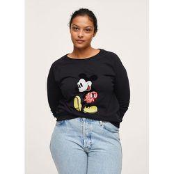 Sweat-shirt sequins Mickey Mouse - Mango - Modalova