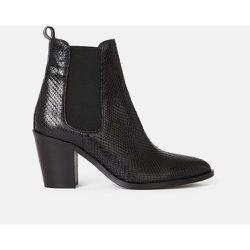 Boots cuir à talons Tainah - MINELLI - Modalova
