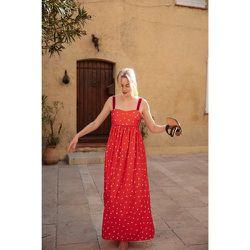 Robe taille empire 100% Coton Stairway to Heaven - SOI PARIS - Modalova