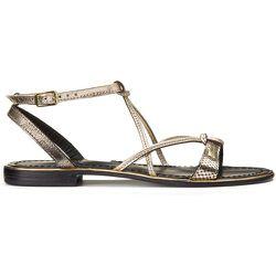 Sandales en cuir Hironblak - LES TROPEZIENNES PAR M BELARBI - Modalova