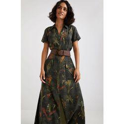 Robe chemise maxi longue - Desigual - Modalova