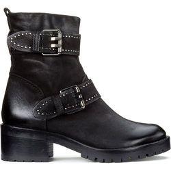 Boots cuir à boucles Misa - MJUS - Modalova