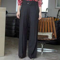 Pantalon large - CHEMINS BLANCS - Modalova
