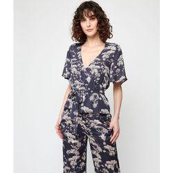 Haut de pyjama t-shirt cache-coeur à manches courtes Haut de pyjama t-shirt AZ - ETAM - Modalova