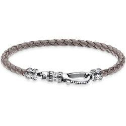 Bracelet En Cuir Gris - Thomas Sabo - Modalova
