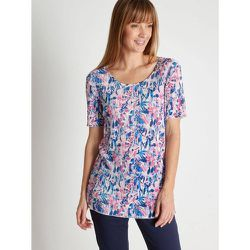 Tee-shirt en maille plissée - CHARMANCE - Modalova
