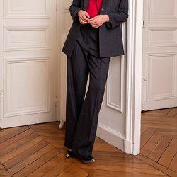 Pantalon rayé ample - CHEMINS BLANCS - Modalova