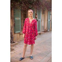 Robe tunique Soie Coton Hotel California - SOI PARIS - Modalova