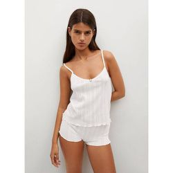 Top pyjama coton - Mango - Modalova