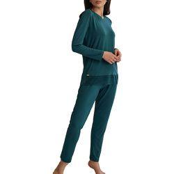 Pyjama tenue d'intérieur pantalon top manches longues FLAVIA - SELMARK - Modalova