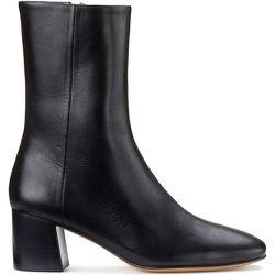Boots en cuir talon large DUNIA - ANTHOLOGY PARIS - Modalova