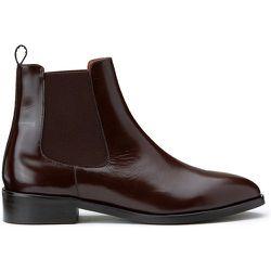 Boots cuir glace chelsea Dwain - JONAK - Modalova